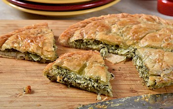 Spanakopita - calories, nutrition, weight
