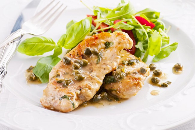 Chicken piccata - calories, kcal