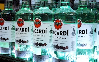 Bacardi rum - calories, nutrition, weight