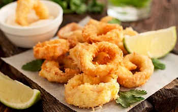Calamari rings - calories, nutrition, weight