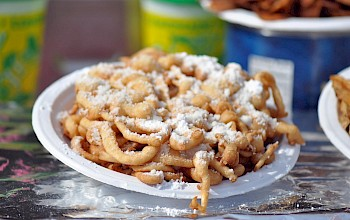 Funnel cake - calories, nutrition, weight
