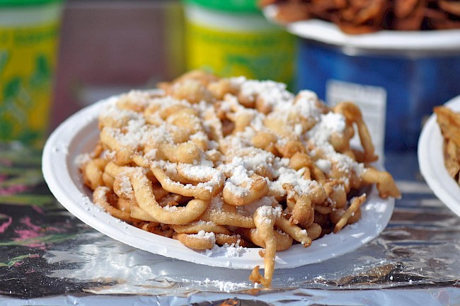 Funnel cake - calories, kcal