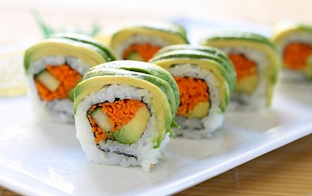 Dragon sushi roll - calories, nutrition, weight