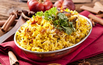 Biryani  - calories, nutrition, weight