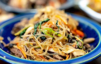 Japchae - calories, nutrition, weight