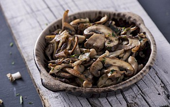 Cooked mushrooms - calories, nutrition, weight