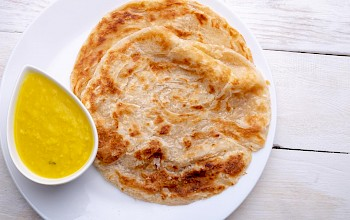 Paratha - calories, nutrition, weight