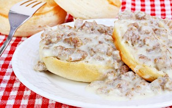 Sausage gravy - calories, nutrition, weight