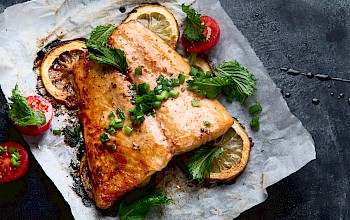 Tilapia fried - calories, nutrition, weight