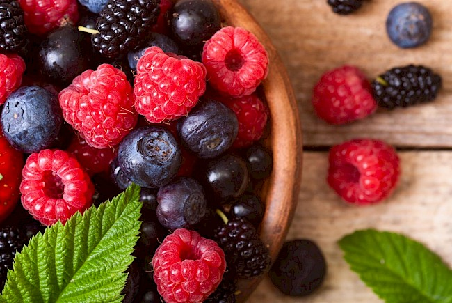 Mixed berries - calories, kcal