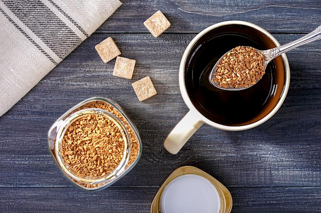 Instant coffee (not reconstituted) - calories, kcal