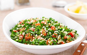 Tabbouleh - calories, nutrition, weight