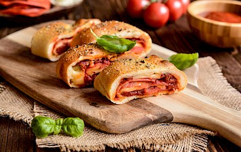 Stromboli - calories, nutrition, weight