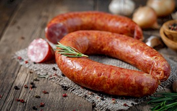 Sausage - calories, nutrition, weight