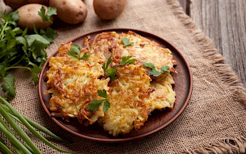 Potato pancake - calories, nutrition, weight