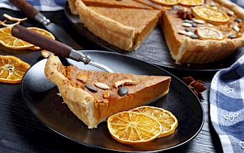 Sweet potato pie - calories, nutrition, weight
