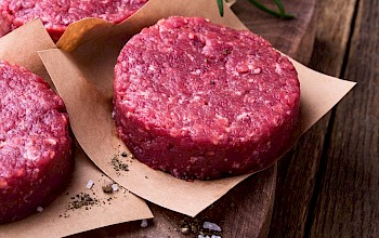 Beef patty - calories, nutrition, weight
