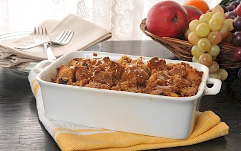 Bread pudding - calories, nutrition, weight