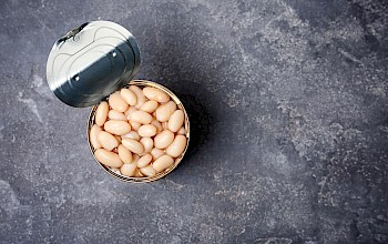 Canned beans - calories, nutrition, weight