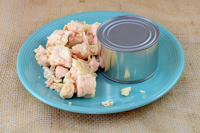 Canned chicken - calories, kcal