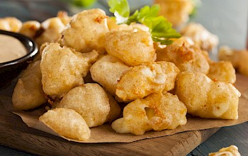 Cheese curd - calories, nutrition, weight