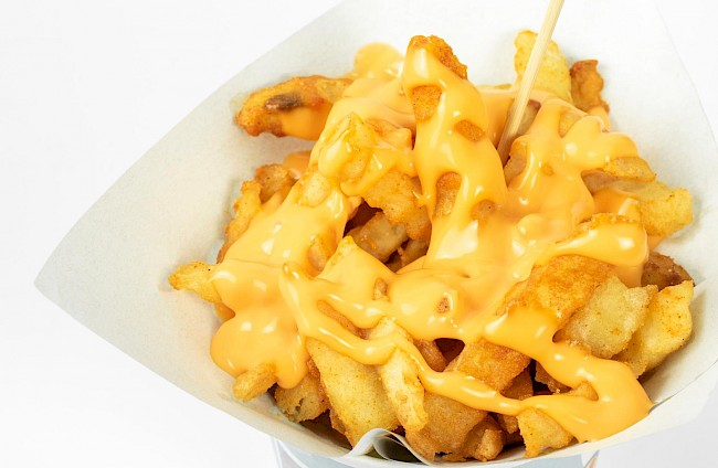 Cheese fries - calories, kcal