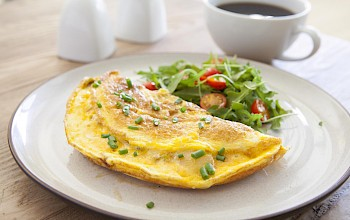 Cheese omelet - calories, nutrition, weight