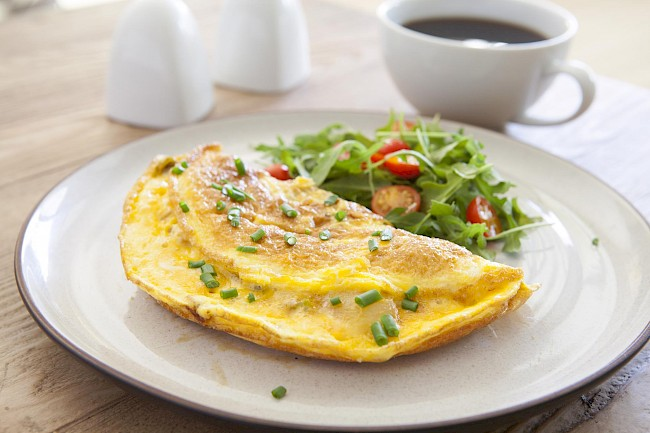 Cheese omelet - calories, kcal