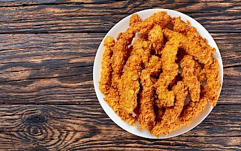 Chicken fries - calories, nutrition, weight