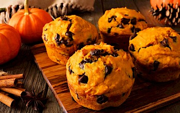 Chocolate chip muffin - calories, nutrition, weight