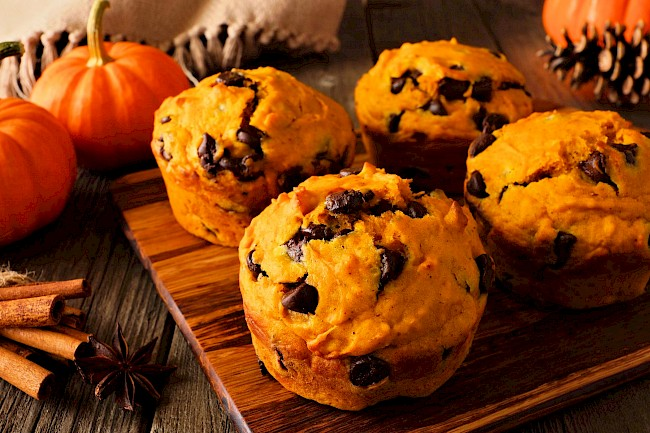 Chocolate chip muffin - calories, kcal