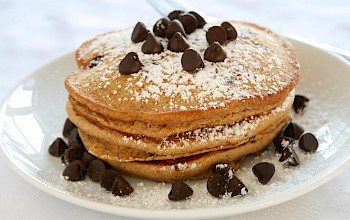 Chocolate chip pancake - calories, nutrition, weight