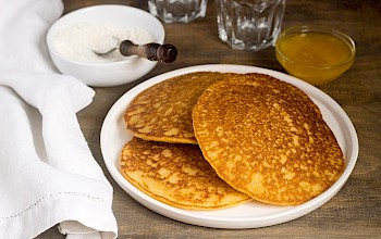 Pumpkin pancake - calories, nutrition, weight