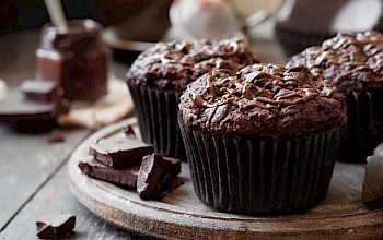 Chocolate muffin - calories, nutrition, weight