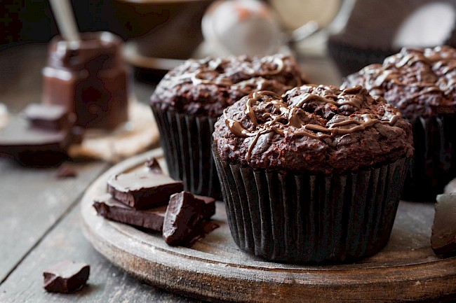 Chocolate muffin - calories, kcal
