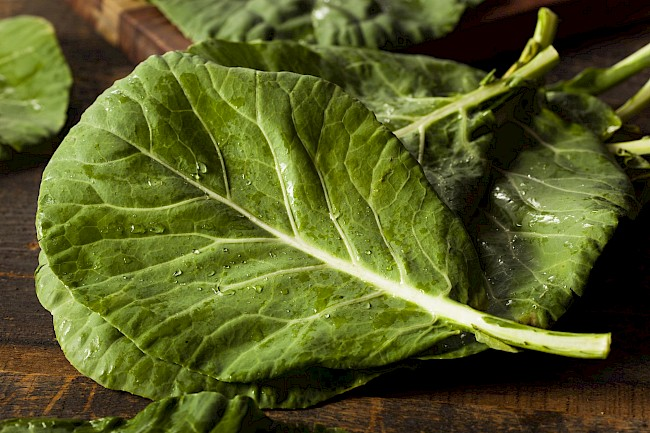 Collards - calories, kcal