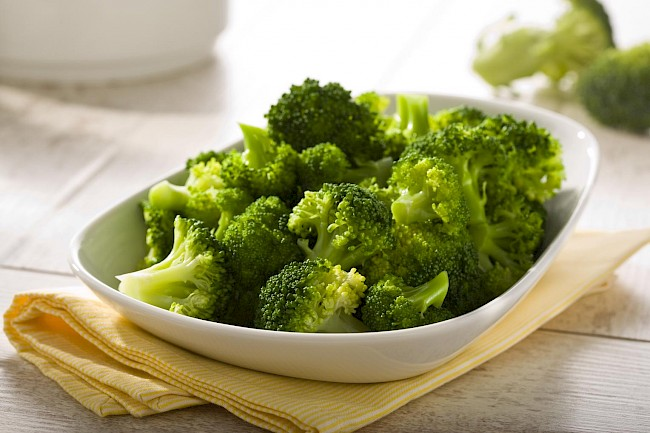 Cooked broccoli - calories, kcal