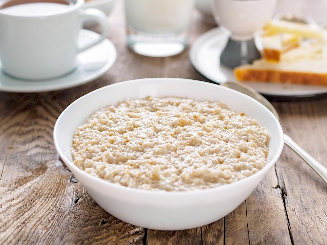 Cooked oatmeal - calories, kcal
