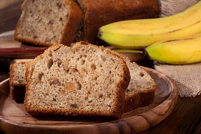 Nut bread - calories, kcal