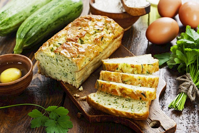 Vegetable bread - calories, kcal