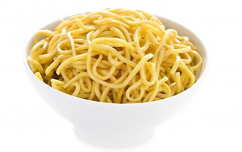 Cooked egg noodles - calories, nutrition, weight