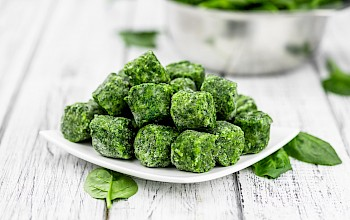 Frozen spinach - calories, nutrition, weight