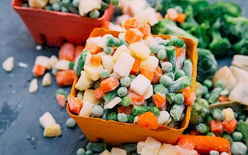 Frozen mixed vegetables - calories, nutrition, weight