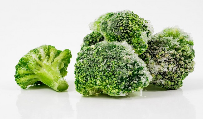 Frozen broccoli - calories, kcal