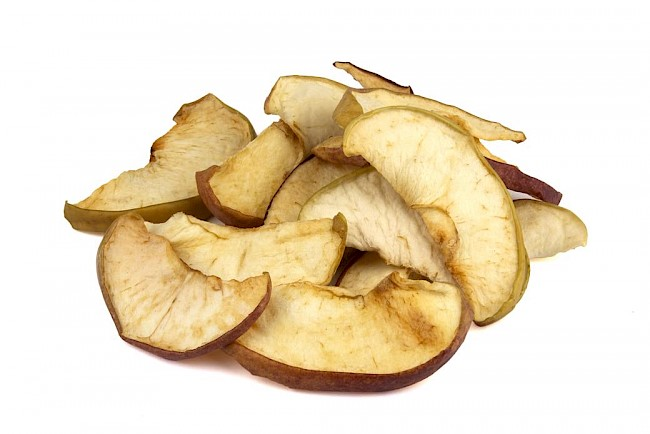 Dried apple - calories, kcal