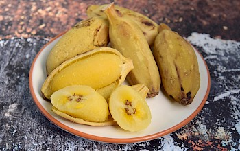 Boiled banana - calories, nutrition, weight
