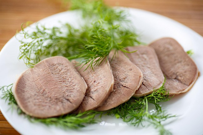 Boiled beef - calories, kcal