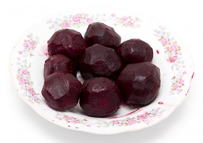 Boiled beets - calories, kcal