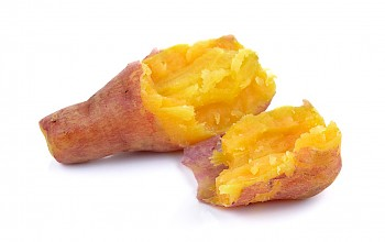 Boiled sweet potato - calories, nutrition, weight