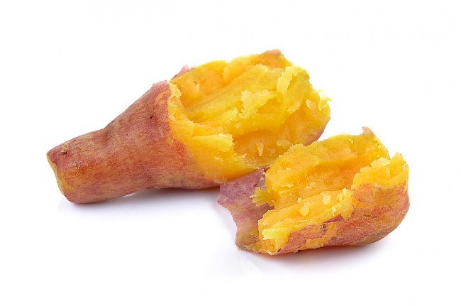 Boiled sweet potato - calories, kcal